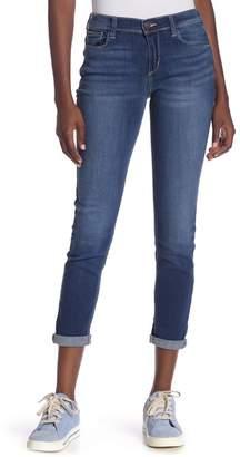SP Black Mid Rise Skinny Boyfriend Jeans