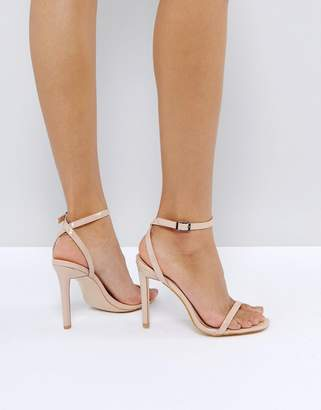 Public Desire Notion Barely There Heeled Sandals
