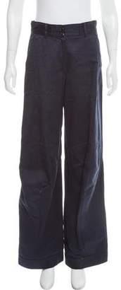 Dries Van Noten High-Rise Wide-Leg Pants
