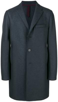 Harris Wharf London mid-length single breasted coat