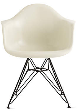 Design Within Reach Herman Miller Eames Molded Fiberglass Wire-Base Armchair (DFAR) at DWR
