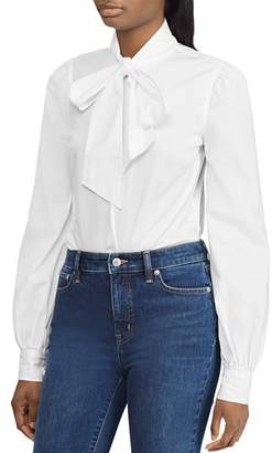 Ralph Lauren Bow-Neck Blouse