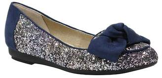 J. Renee Bacton Glitter Bow Flat - Multiple Widths Available