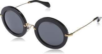 Miu Miu Women's MU 13NS Designer Sunglasses