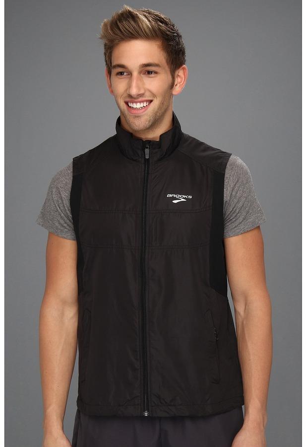 Brooks Essential Run Vest II (Black) - Apparel