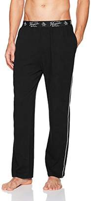 Original Penguin Men's Single Knit Pant with Side Piping