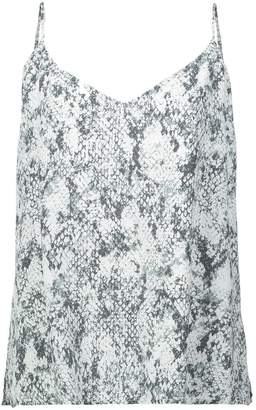 L'Agence snake print cami top
