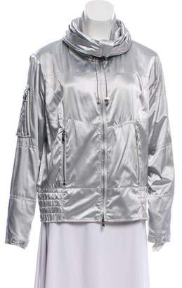 Ralph Lauren Metallic Zip Front Jacket