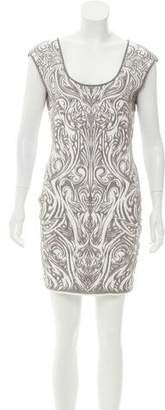 RVN Knit Jacquard Dress