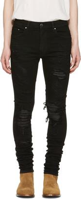 Amiri Black Snake Skinny Jean $1,495 thestylecure.com