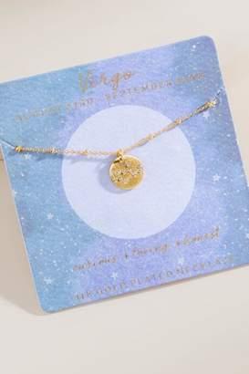 francesca's Virgo Constellation Pendant Necklace - Gold