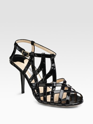 Jimmy Choo Owen Caged Sandals
