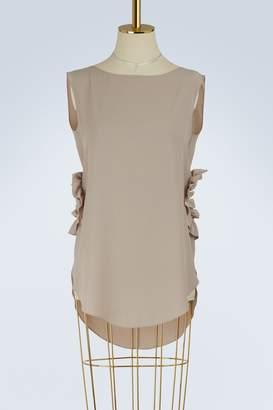 Nina Ricci Short sleeves crepe top