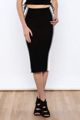 Do & Be Black colorblock Skirt