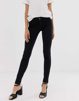 JDY skinny jeans in black