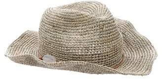 Hat Attack Raffia Embellished Hat