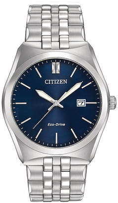 Citizen Eco-Drive Corso Mens Stainless Steel Watch BM7330-59L