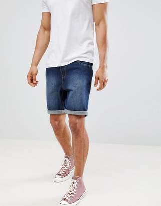Brave Soul Basic Clean Denim Shorts