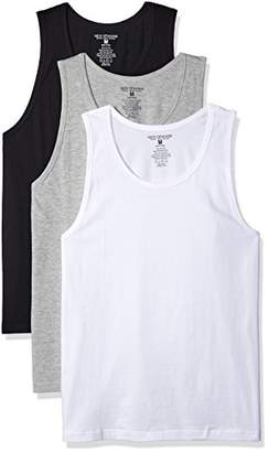Nick Graham Men's 3-Pack Basic Cotton A-Tank Undershirts | The Most Comfortable Undershirt