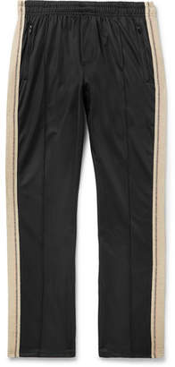 Our Legacy Canvas-trimmed Fleece-back Tech-jersey Sweatpants - Black