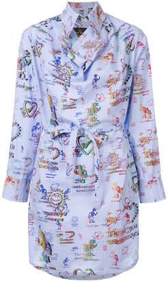 Vivienne Westwood printed belted dress