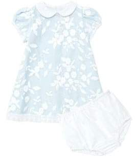 Isabel Garreton Baby Girl's Floral Organza Dress & Bloomers Set