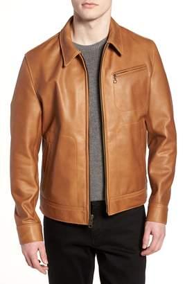 Schott NYC Waxy Leather Jacket