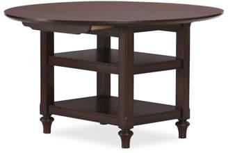 Pottery Barn Shayne Drop-Leaf Kitchen Table, Mahogany