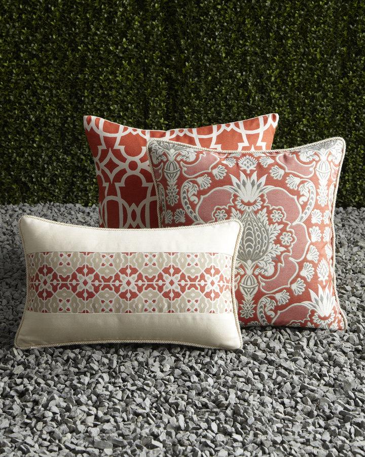 Elaine Smith Caribbean-Inspired Outdoor Pillows