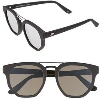 Le Specs 'Thunderdome' 52mm Sunglasses $79 thestylecure.com