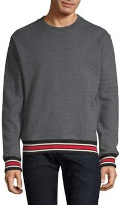 The Kooples Stripe-Trim Sweater