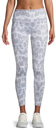 Onzie High-Rise Athletic Leggings, Soft Leopard