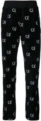 Chiara Ferragni all-over logo pants