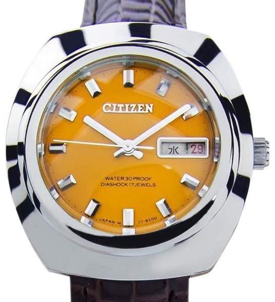 CitizenCitizen Diashock 17 Jewels Manual Vintage Mens Watch 1970