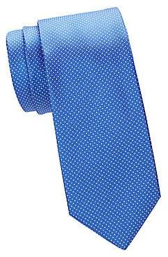 Canali Men's Micro Dot Silk Tie