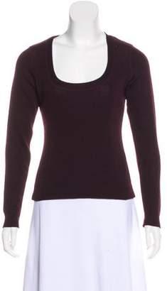 Schumacher Scoop Neck Wool Sweater