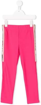 Gucci Kids side stripe leggings