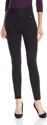 Calvin Klein Women's Modern Essential Power Stretch Legging with Wide Waist Band