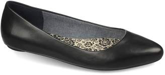 Dr. Scholl's Dr. Scholls Really Women's Leather Ballet Flats