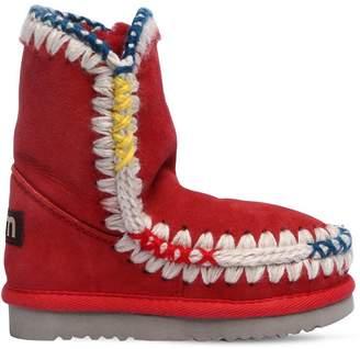 Mou Mini Eskimo Shearling Boots