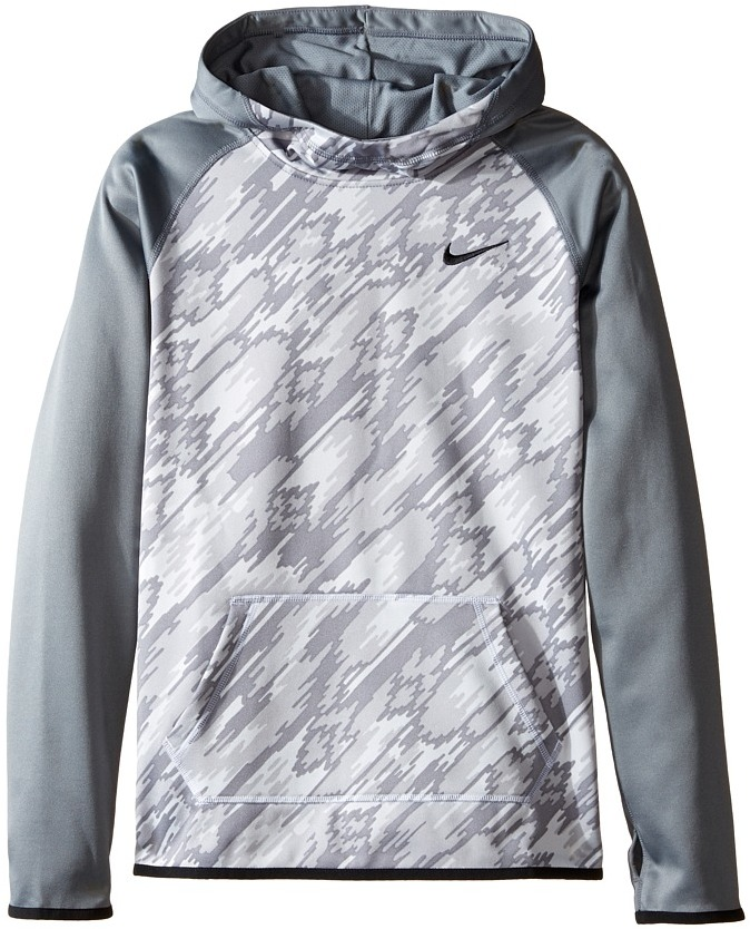 Nike Kids Therma Training Print Hoodie (Little Kids/Big Kids)