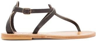 K. Jacques Buffon leather sandals