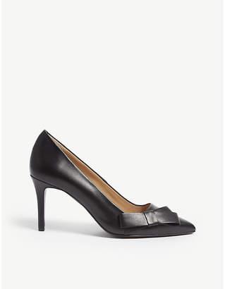 Claudie Pierlot Altesse leather courts