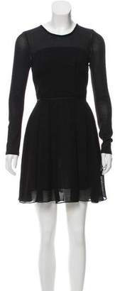 Proenza Schouler Mini Long Sleeve Dress