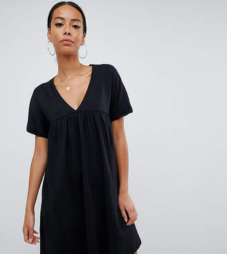 Asos Tall DESIGN Tall ultimate cotton smock dress