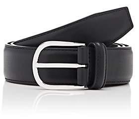 Barneys New York Men's Leather Belt-Black