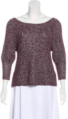Alice + Olivia Metallic Knit Sweater