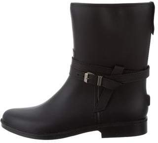 Barneys New York Barney's New York Rubber Mid-Calf Boots w/ Tags