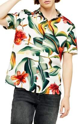 e7414e1e5b7 Mens Oversized Short Sleeve Shirt - ShopStyle