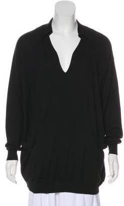 Saint Laurent Cashmere Long Sleeve Sweater